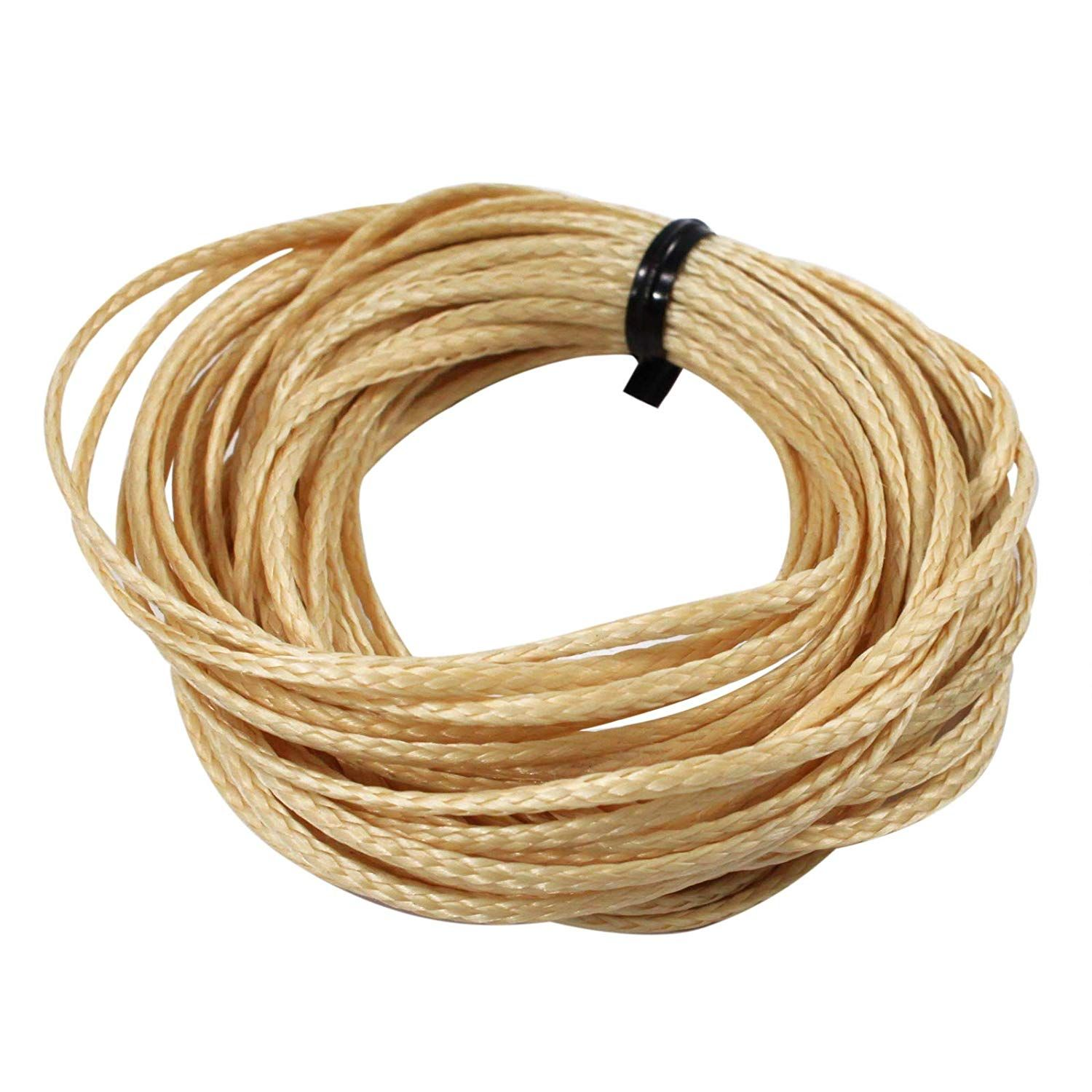 Asr Outdoor Technora Composite Survival Rope 1200lb Breaking Strength 25ft Tan See The Photo Link Even More Cool Things To Buy Climbing Rope Natural Braids