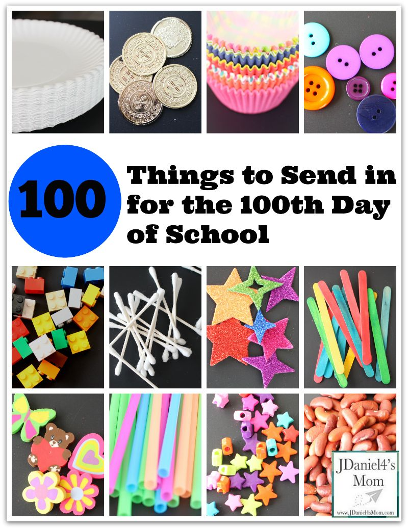 Art Projects Using 100 Items
