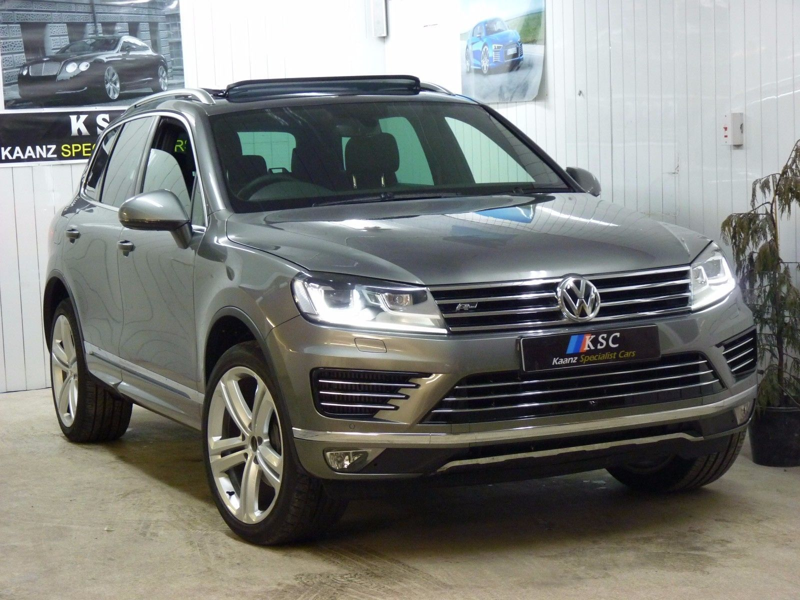 Ebay 2017 Volkswagen Touareg 3 0 Tdi R Line Plus Tiptronic 4x4 Damaged Repaired