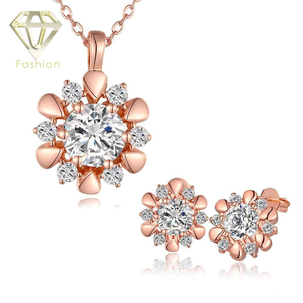 Click to Buy Antique Jewellery UK Hot Sale Classic Rose Flower