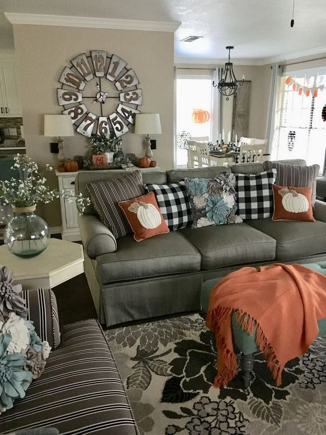+31 Fall House Decor Diy Living Rooms 103