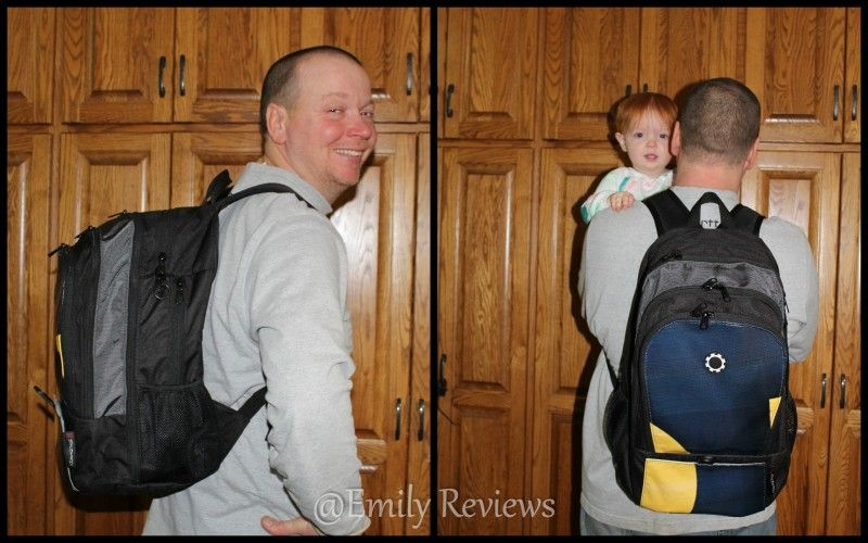 Dad Is Stoked With His New Dadgear Backpack Diaper Bag Review By Emily Reviews