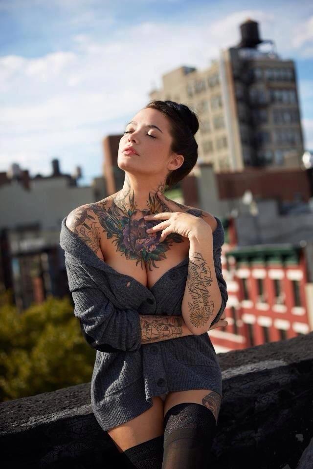 Sexy Russian Tattoo Girl