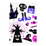 Halloween cute kids edition stationery #halloween #happyhalloween #halloweenparty #halloweenmakeup #halloweencostume