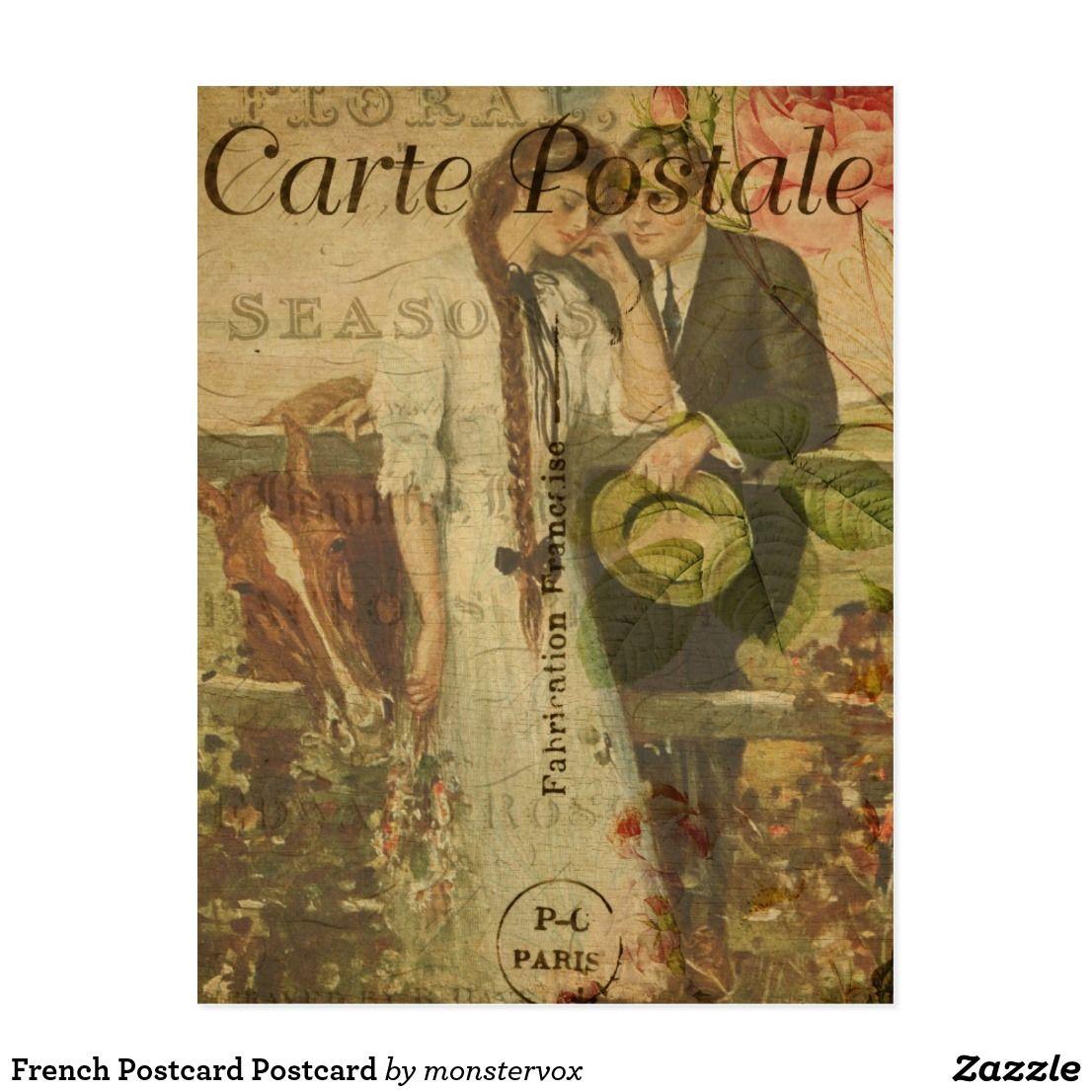 French Postcard Postcard FrenchPostcard CartePostale