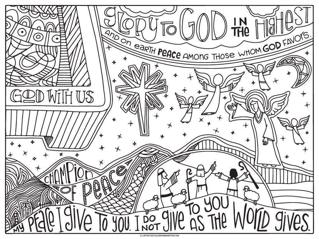 27 Inspired Image Of Peace Coloring Pages Entitlementtrap Com Advent Coloring Coloring Posters Coloring Pages