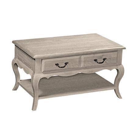 Annabelle Grey Wash Oak Coffee Table | Dunelm