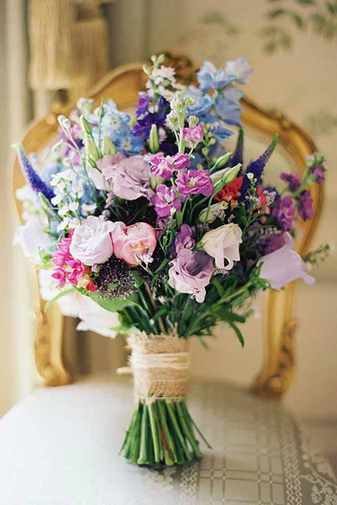 Wildflower Wedding Bouquets Not Just For The Country See More Http