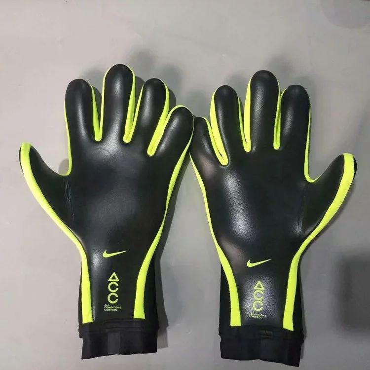 Nk black mte goalkeeper gloves goalkeeper gloves soccer