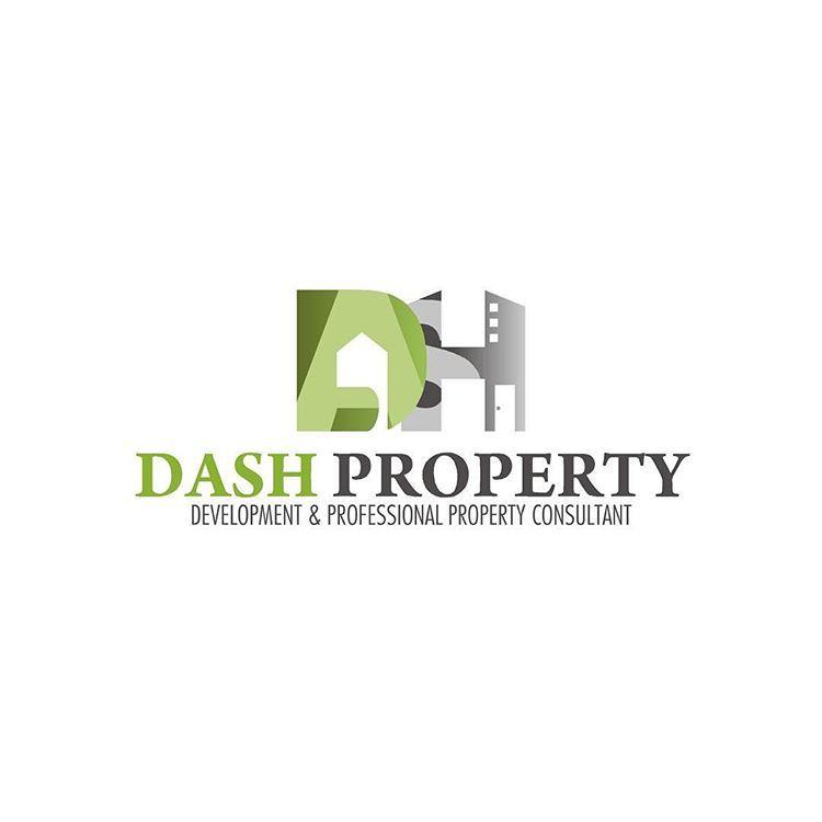 Akai Idea Factory On Instagram Dash Property Dialoka Agung Sejahtera Fix Logo Vectorart Freehand Logo Graphicdesign Vectorart Logoart Indonesiaart