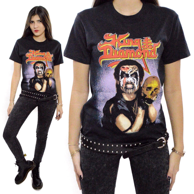 f40dd909669 Vintage 80s King Diamond Conspiracy Tour 1989 T Shirt Sz M by Dopedoll on  Etsy https