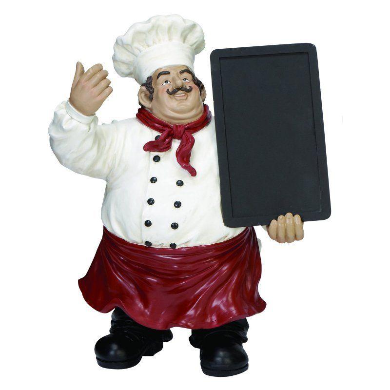 Decmode Polystone Chef Chalkboard