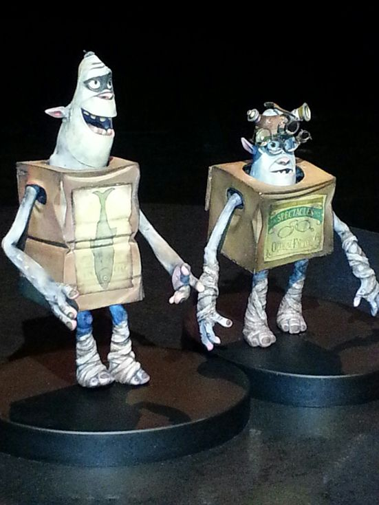 I got to see the Boxtrolls live and in person at the Ottawa International Animation Festival