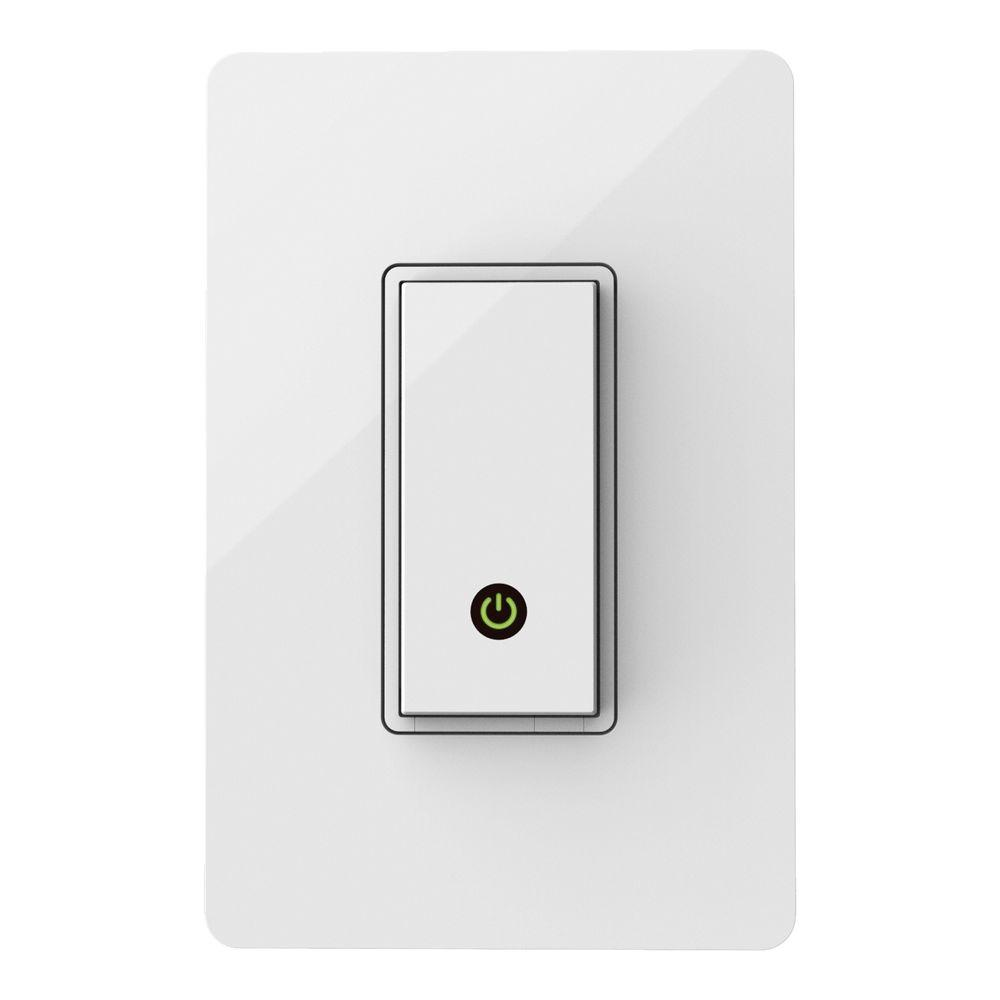 WeMo Wireless Light Control Switch | Smart home automation, Home automation  system, Works with alexa