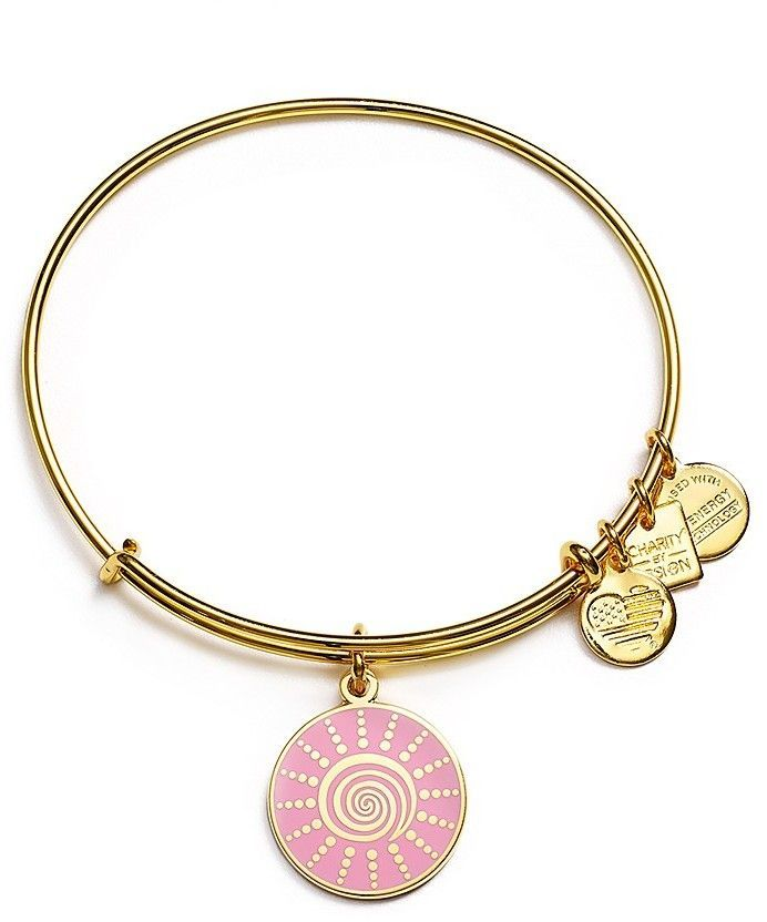 Alex and Ani Spiral Sun Bangle, Charity by Design Collection