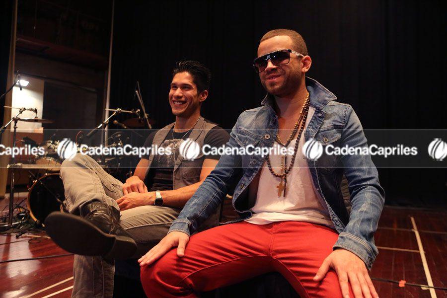 Dúo Chino y Nacho. Foto: Edixon Gámez/Cadena Capriles