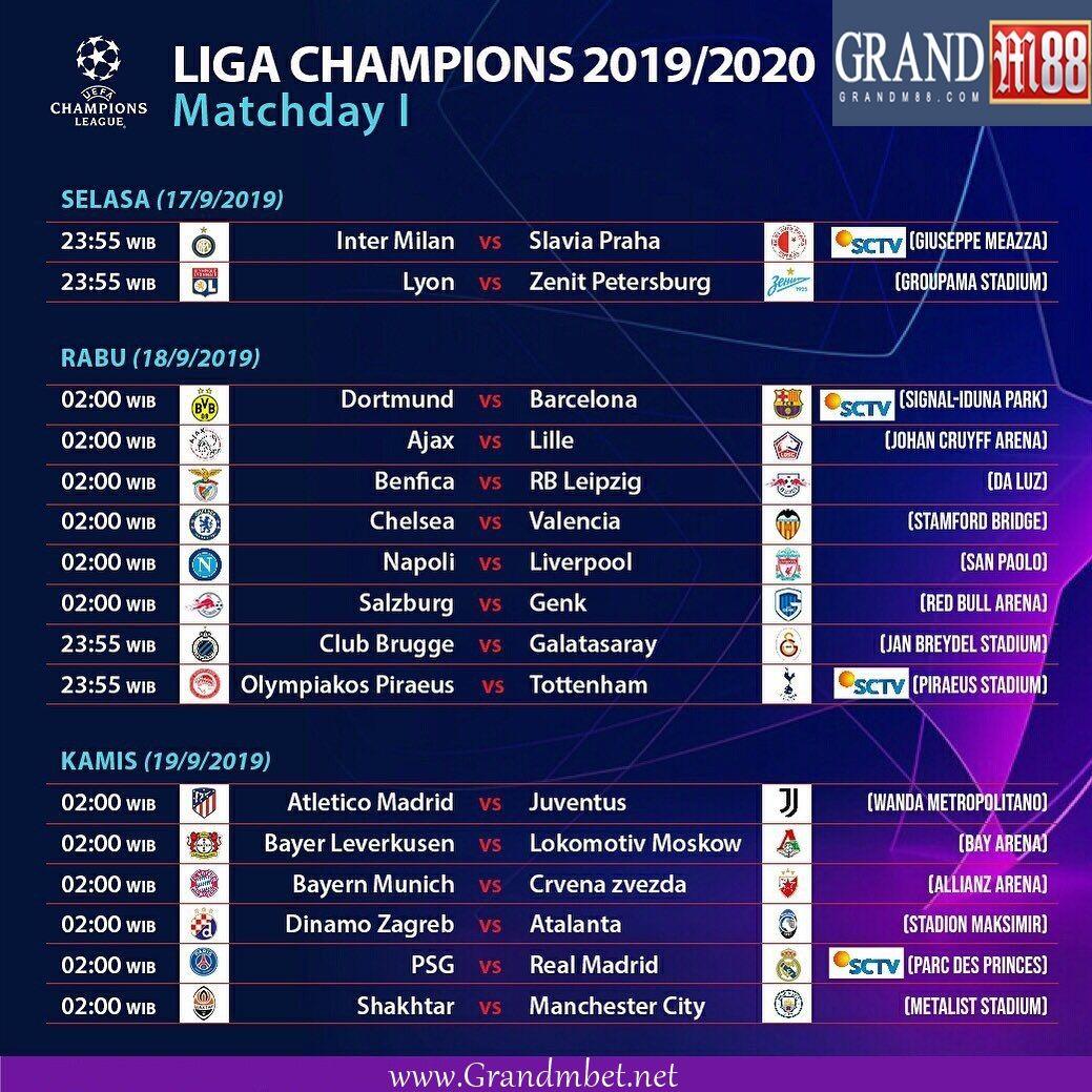 Pin Di Liga Champions