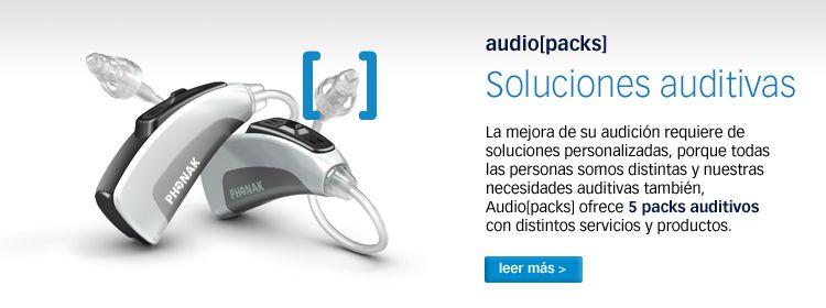 Su audición Audiopacks. Audiología y logopedia en Barcelona