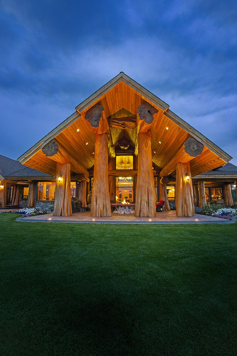 prosperity ridge home pioneer log homes of bc loghome. Black Bedroom Furniture Sets. Home Design Ideas
