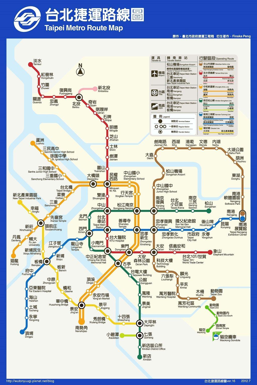 T3 Jpg 1024 1535 Route Map Taipei Taiwan Travel