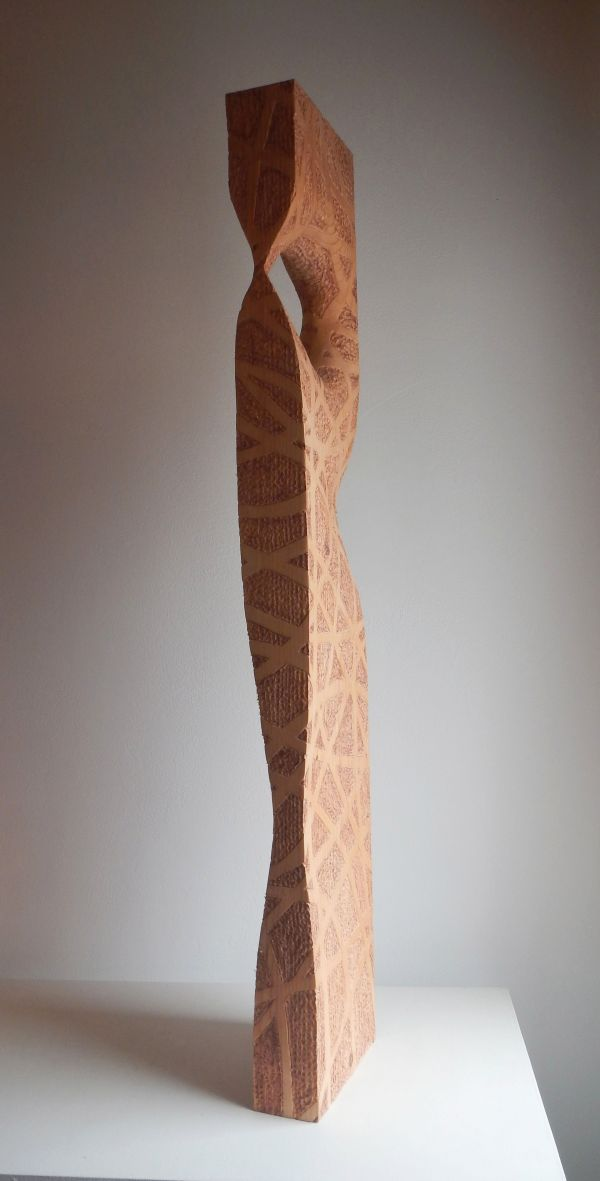 Inspiration from a wood sculpture of Liliya Pobornikova ...