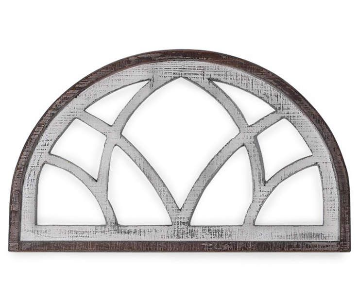 Brown whitewash arched wall decor big lots in 2020
