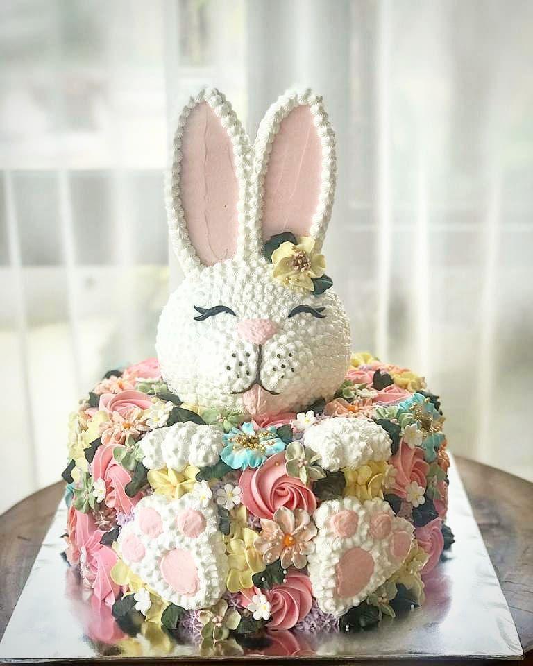 Birthday Cake Bandung : birthday, bandung, Nenhuma, Descrição, Disponível., Cake,, Buttercream, Flowers,