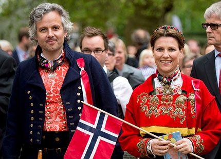 HKH Martha Louise of Norway, and her husband Ari Behn.