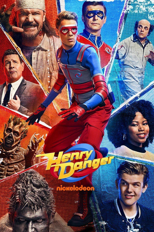 Henry Danger season 4 poster Series e filmes, Imagens de