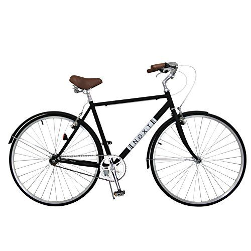 Vintage Fashion and Lifestyle Sports Single Speed Road Bicycle Classic Track Fixed Gear fits up to 6'4""