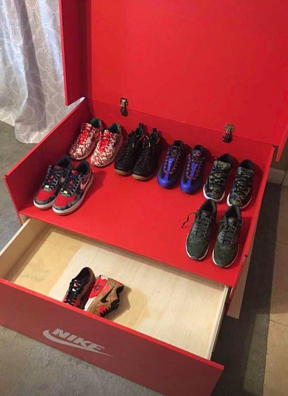 Solin De Del Inventos 16pair Caja Zapato Nike Almacenaje UHnWdqP0