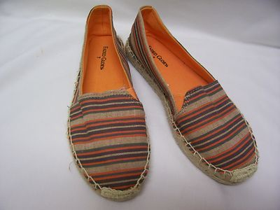 Dreaming of Provence in these striped espadrilles