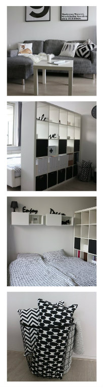 Claire\u0027s monochrome 30m2 apartment in the Netherlands Read her
