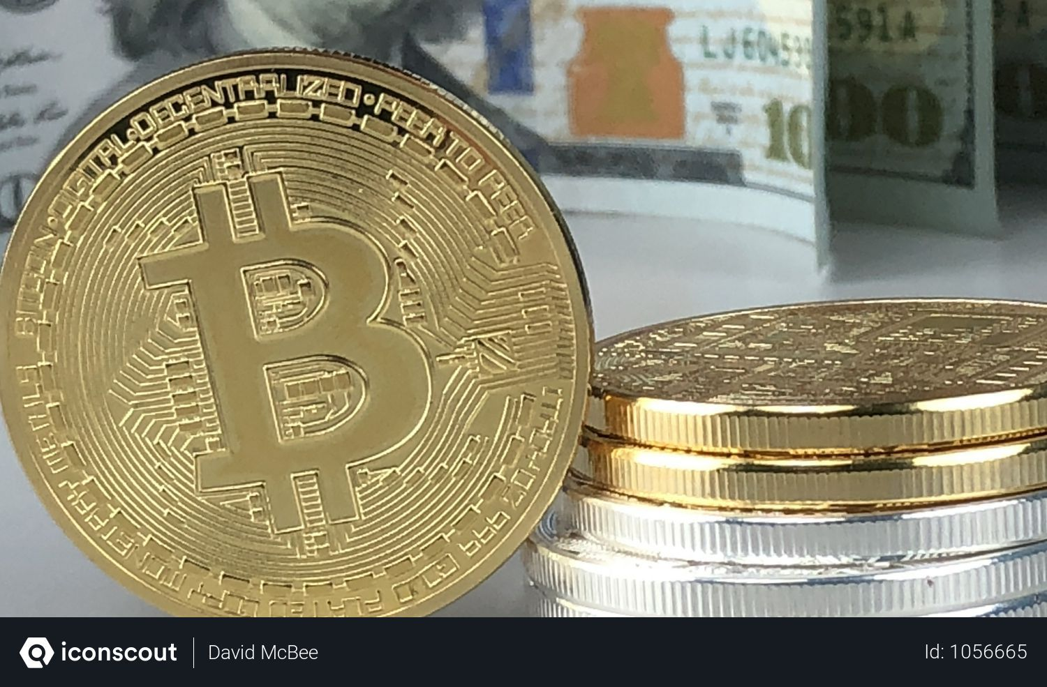 Free closeup of gold bitcoin photo download in png jpg