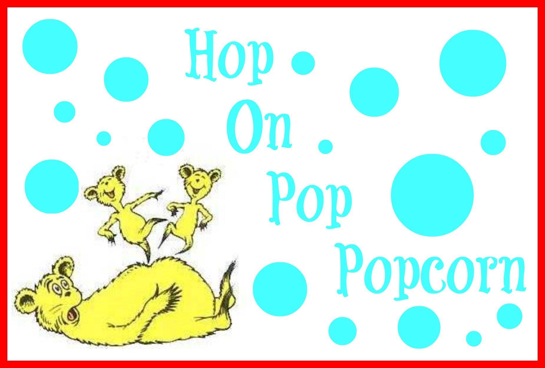 Pin by Jennifer Alfi on Dr. Seuss | Hop on pop, Dr seuss ...