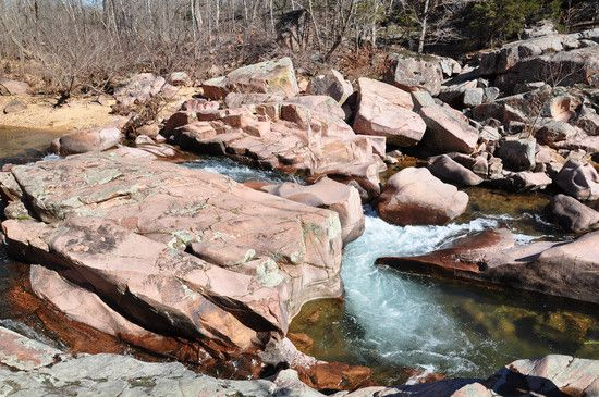 Quot Pink Rocks Quot Castor River Shut Ins Near Fredericktown Missouri Pavement Ends Pinterest