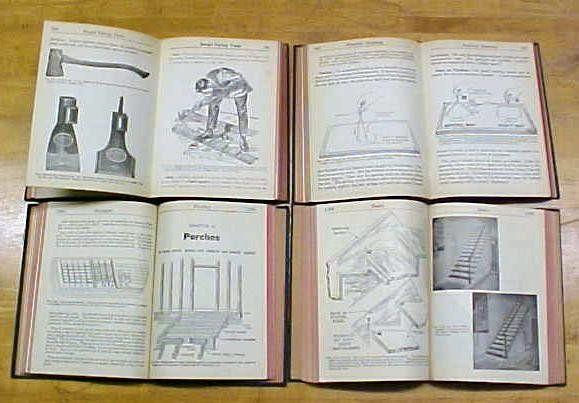 Audels Carpenters & Builders Guide Set 1940's