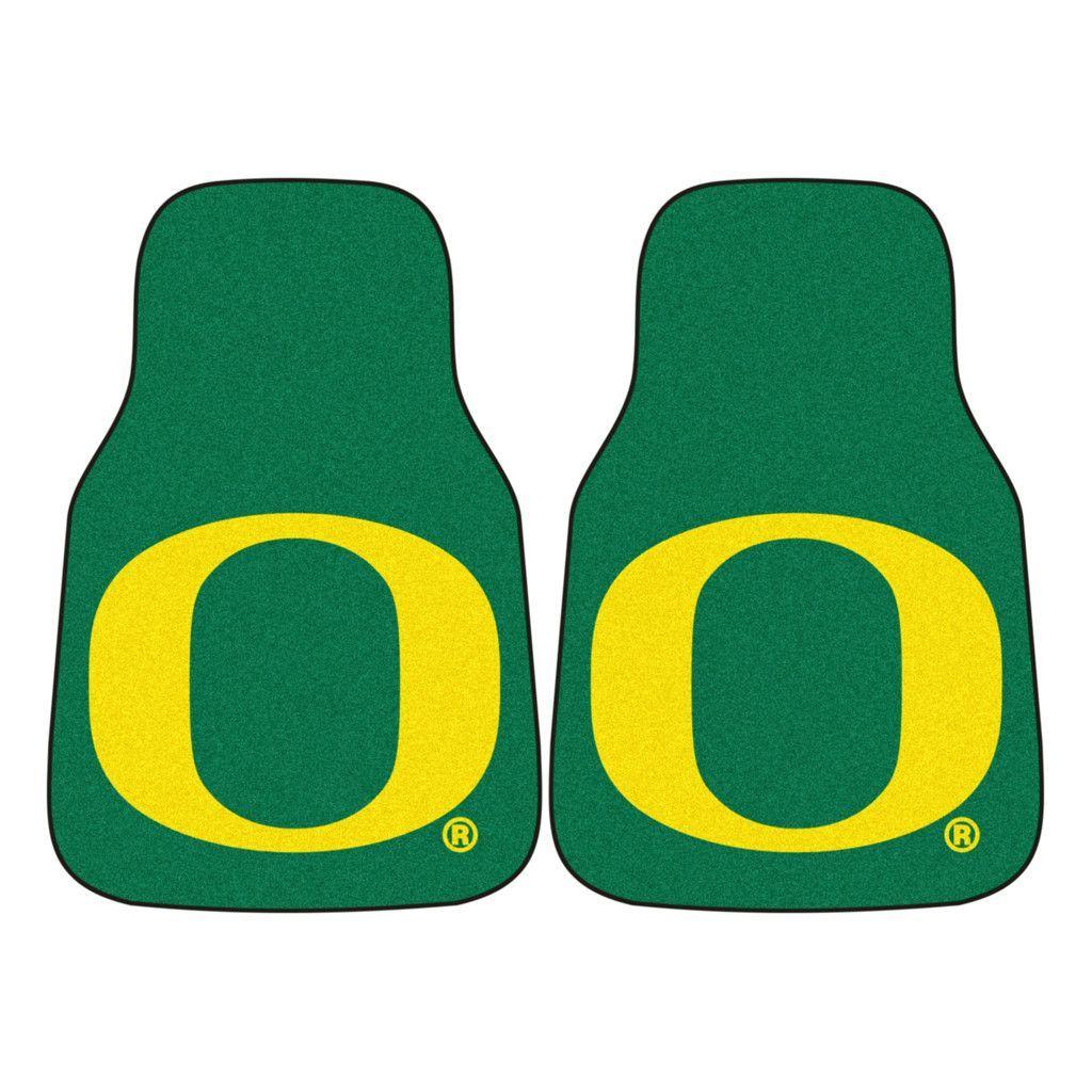 Oregon Ducks Green Carpet Floor Mats