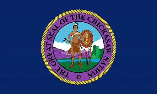 Chickasaw Flag This Is Actual The Chickasaw Seal Not A Flag Chickasaw Indians Chickasaw Native American Knowledge