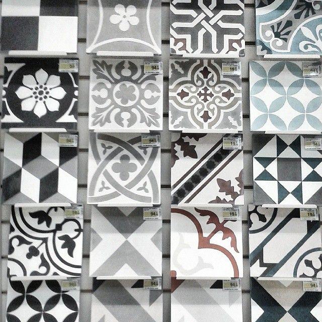 carreaux de ciment et gr s c rame by leroy merlin parce que l 39 on a pas tous des. Black Bedroom Furniture Sets. Home Design Ideas
