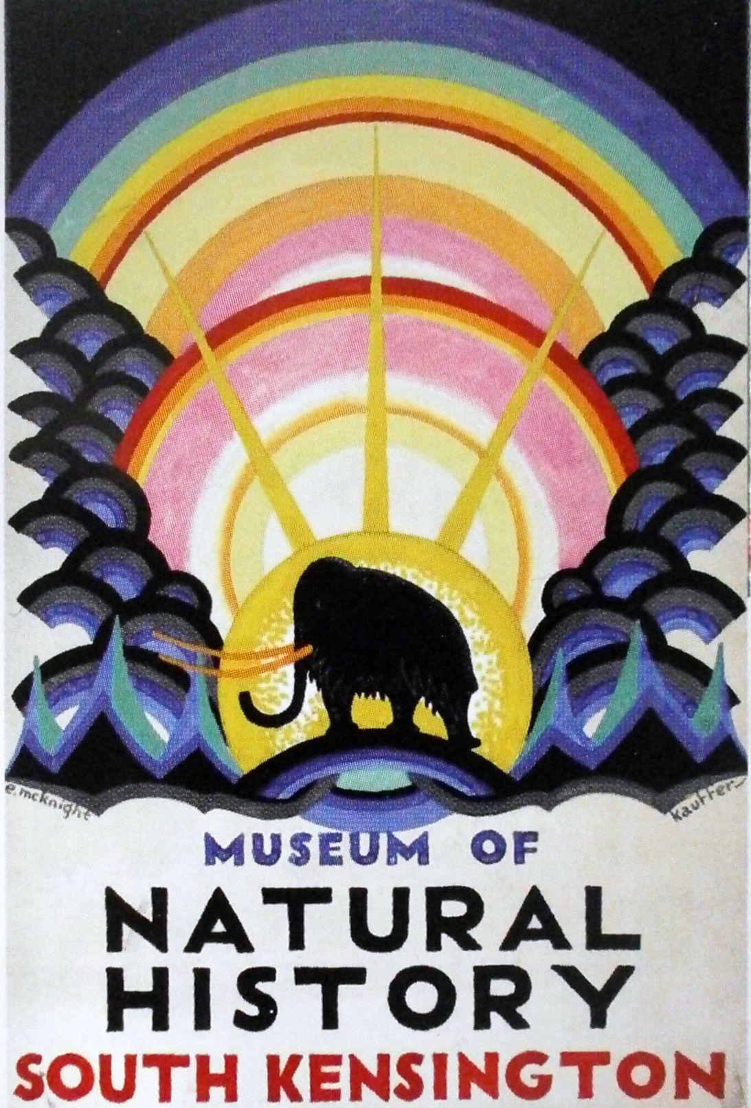 Zoo poster design - Edward Mcknight Kauffer United States Artist Zoo Poster United Kingdom Ca