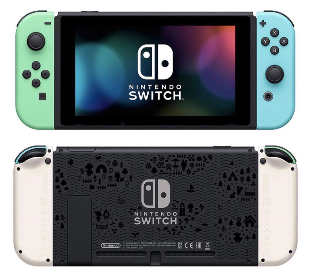 The Acnh Inspired Nintendo Switch In 2020 Nintendo Nintendo Switch Game Boy Advance Sp