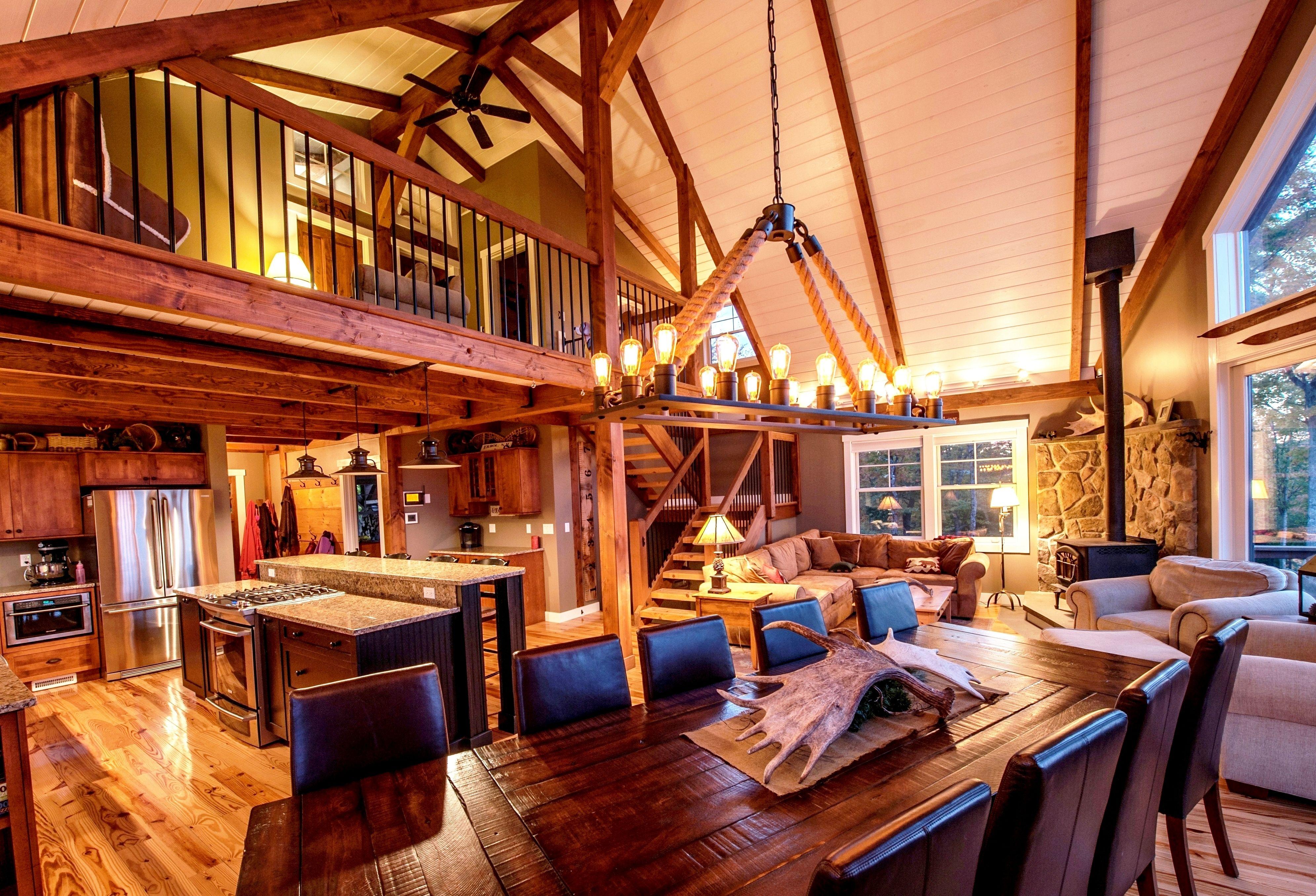 Single Floor Living in a Multilevel Yankee Barn Small