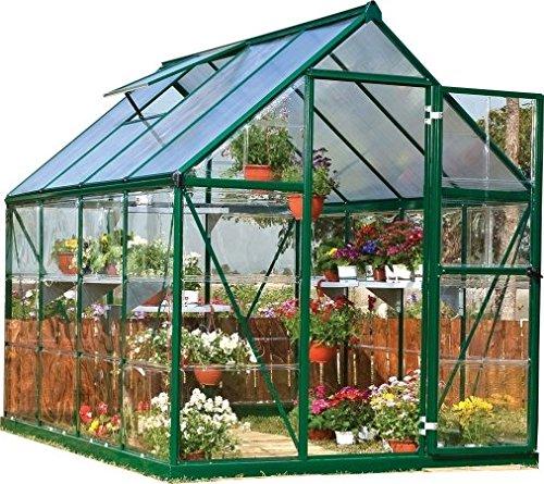 Amazon Com Palram Hg5508G Hybrid Greenhouse 6 X 8 X 7 400 x 300
