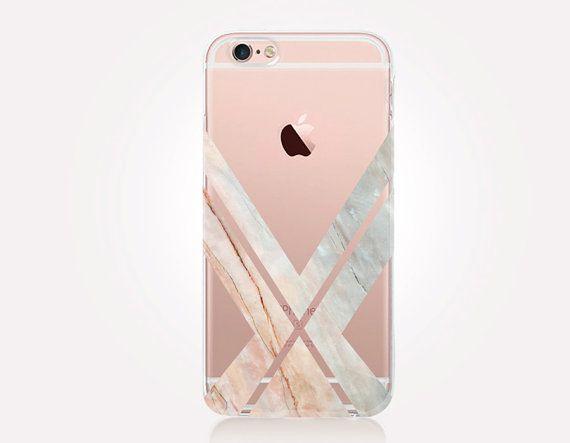 coque iphone 7 marbre transparent