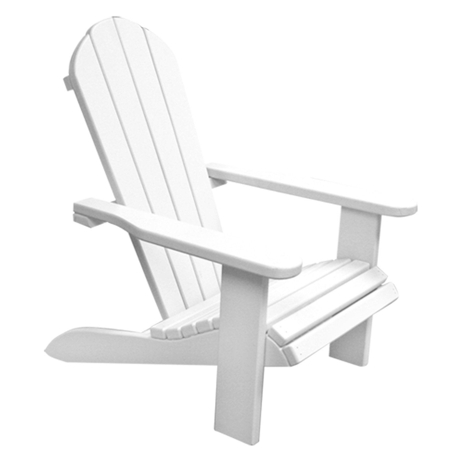 Newco Kids Wooden Outdoor Chair   White $59.99