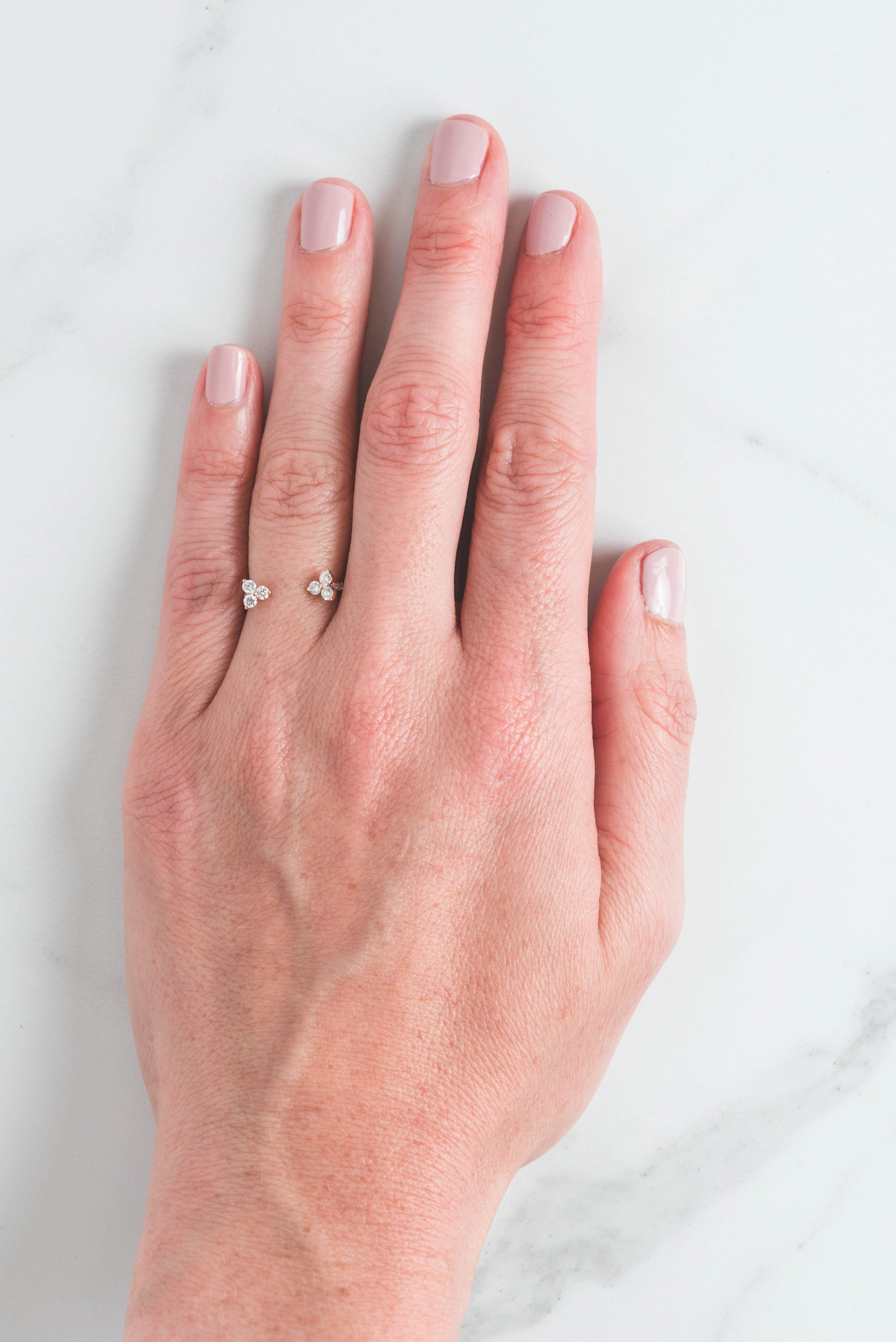 Aliza Ring | Open ring, Alternative and Diamond bands