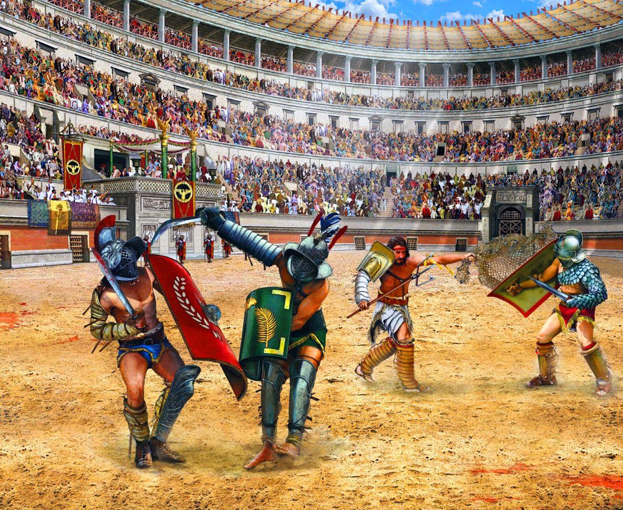 Картинки колизей гладиаторы