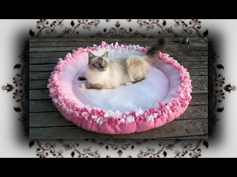 diy xl knoten kissen bett f r katzen hunde knot cushion bed for cats dogs youtube diy. Black Bedroom Furniture Sets. Home Design Ideas