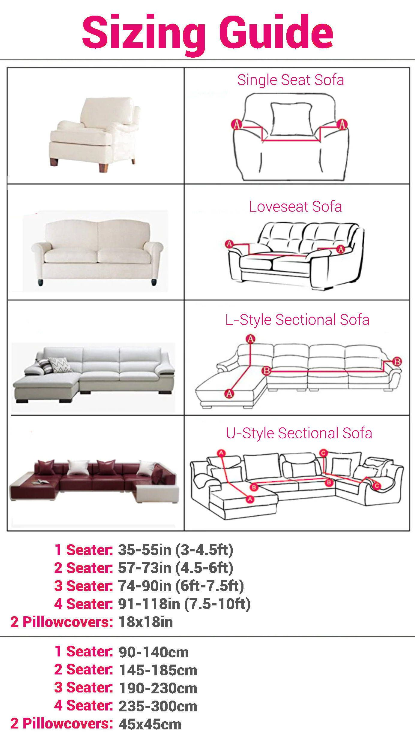 Solid Sofa Cover 1 Seater In 2020 Sofa Covers Inexpensive Home Decor Easy Home Decor